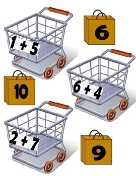Math- Addition/Subtraction - Lets Go Shopping