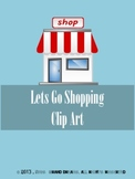 Lets Go Shopping Clip Art