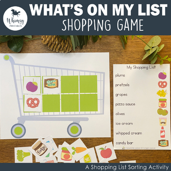 Let's Go Shopping Game