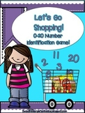 Let's Go Shopping! Number Identification Game