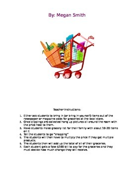 Let's Go Shopping Project