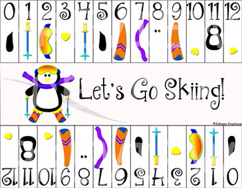 Let's Go Skiing! Math Game