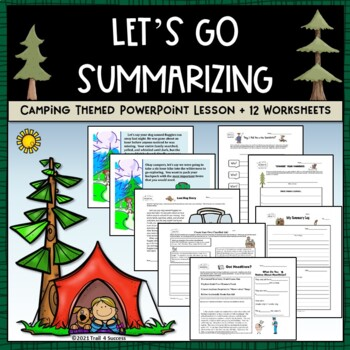 How To Write A Summary Worksheets Teaching Resources TpT