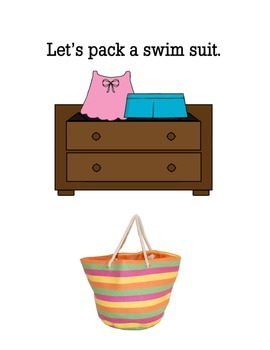 Let's Go To The Beach (Interactive Book)