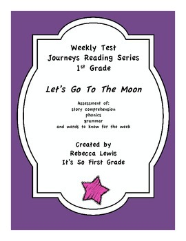 Lets Go To The Moon Journeys Assessment
