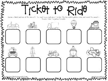 Let's Go! Transportation Literacy and Math Activities