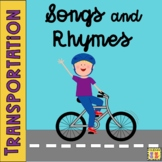 Transportation, Land, Sea, Air, Songs