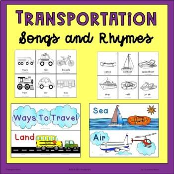 Transportation, Land, Sea, Air, Songs
