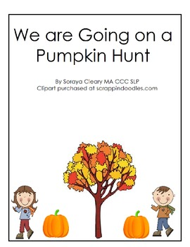 Let's Go on a Pumpkin Hunt