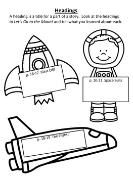 Let's Go to the Moon 1st grade Supplemental for Journey's Unit 4 Lesson 16