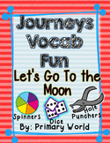 Let's Go to the Moon, Journeys First Grade Unit 4 Lesson 16 Vocabulary
