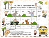 Let's Go to the Zoo! Contraction Game Literacy Station RF.1.3, RF.2.3, L.2.2