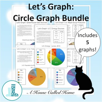 Let's Graph: Circle Graph Bundle