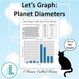 Let's Graph: Planet Diameters - Bar Graph