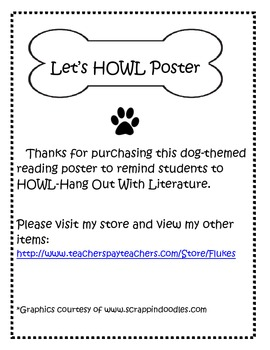 Let's HOWL (Hang Out With Literature) Poster
