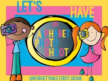 Let's Have An Alphabet Photo-Shoot {Alphabet Camera's}