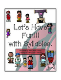 Let's Have Fun With Syllables ~ First Grade Sight Word Game