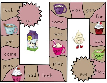 Let's Have S'more Fun Sight Words Set 4  Lucy Calkins and Dolch Words