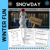 Winter Activities STEM Snow and ELA