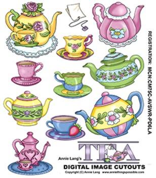 Let's Have Tea Clipart