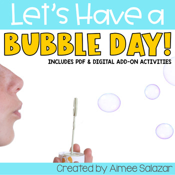 Bubbles Unit {Language Arts & Math}