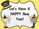 Let's Have a HAPPY New Year