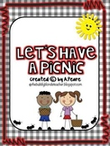 Let's Have a Picnic Unit {math, literacy & craftivities}