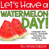 Watermelon Day (PDF & Digital Add-On) / Distance Learning