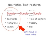 RI.1.5 Common Core - Let's Identify Non-Fiction Text Features
