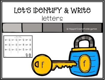 Let's Identify and Write Letters