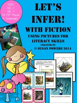 Let's Infer with Fiction Interactive Literacy Activities
