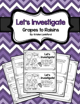 Let's Investigate: Grapes to Raisins