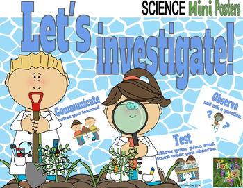 Science Investigation Mini Posters