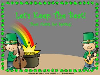 Let's Keep The Beat; Spring Edition - Kodaly Based Beat Ta