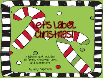 Let's Label Christmas!