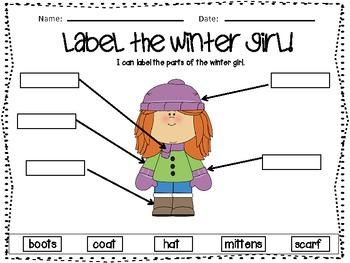 Let's Label Winter! A Labeling Unit