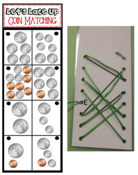 Let's Lace Up – Coin Counting