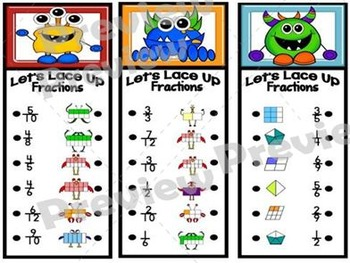 Let's Lace Up – Fractions