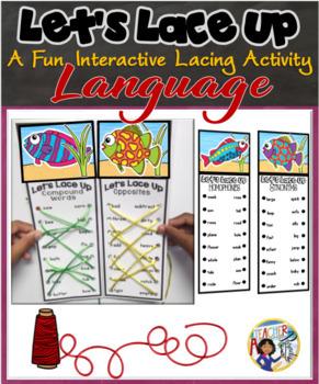 Let's Lace Up – Language Arts 1