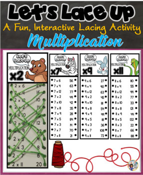 Let's Lace Up – Multiplication Facts
