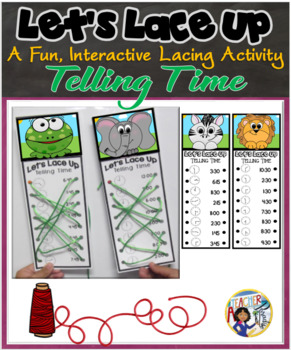 Let's Lace Up – Telling Time
