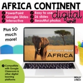 Africa Continent Study through PowerPoint/Google Slides Di