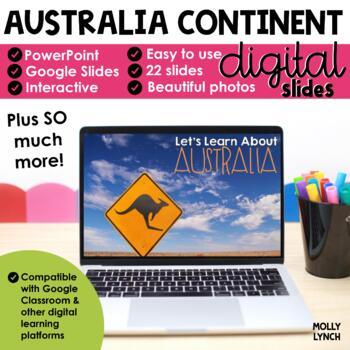 Australia Continent Study through PowerPoint