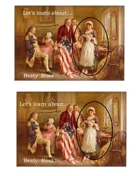 Let's Learn About... Betsy Ross (An Emergent Reader)