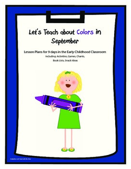 Let's Learn About Colors in September
