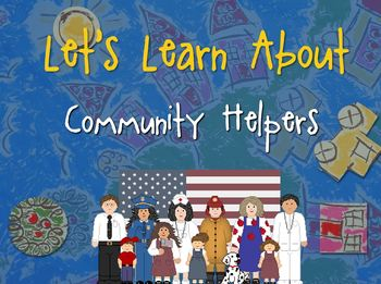 Let's Learn About Community Helpers! (Powerpoint)