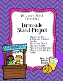 Let's Learn About Economics!  Lemonade Stand Project