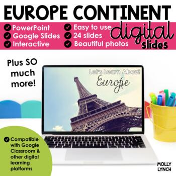 Europe Continent Study through PowerPoint
