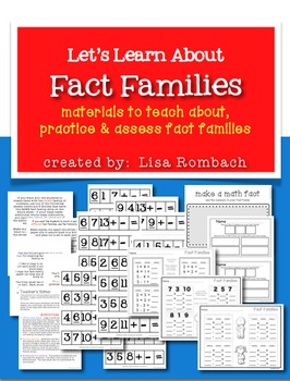 Let's Learn About Fact Families