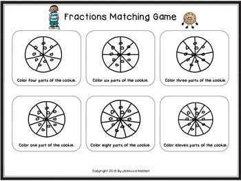 Let's Learn About Fractions: A Fun Cookie Themed Unit